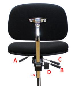 korkea työtuoli ergonominen