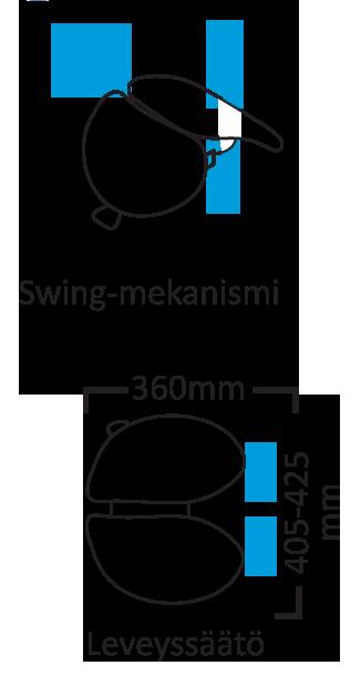 salli swingfit mitat