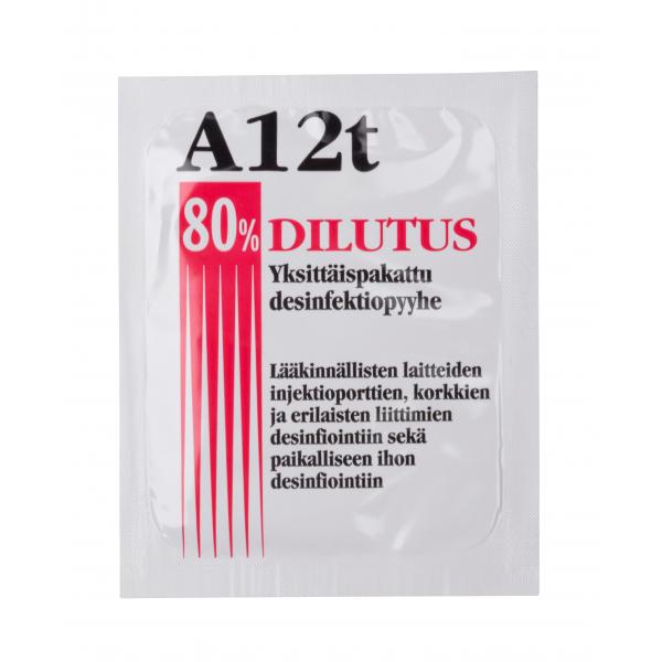 Desinfiointiliina Dilutus a12t visiirin puhdistus desinfiointipyyhe desinfektiopyyhe