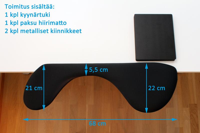 hiirikäsi rannetuki hiirikädelle ergonominen hiiri matto